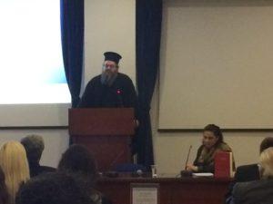 Ο Πανοσιολογιώτατος Αρχιμανδρίτης π. Ιερώνυμος Νικολόπουλος, Αρχιγραμματέας της Ιεράς Συνόδου της Εκκλησίας της Ελλάδος